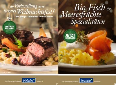 Weihnachtsfleisch und Fisch bestellen