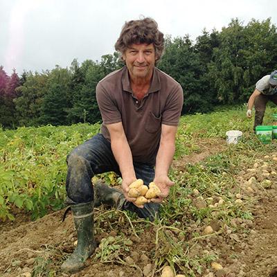 Bio-Kartoffeln aus eigenem Anbau