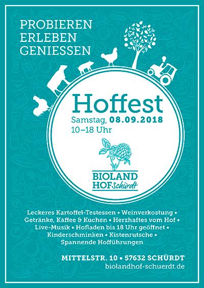 Hoffest am 08.09.2018